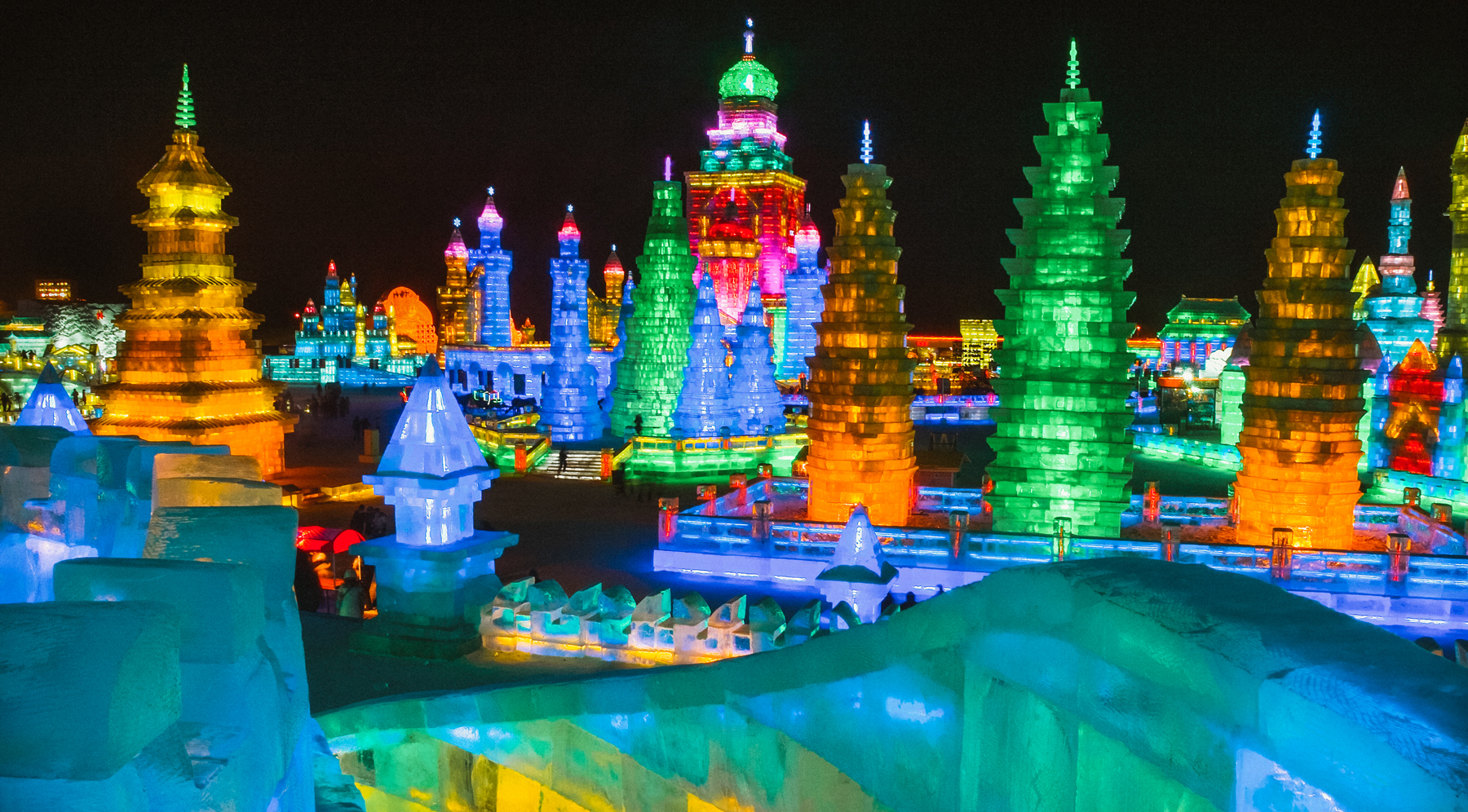 Harbin Ice and Snow Festival, China