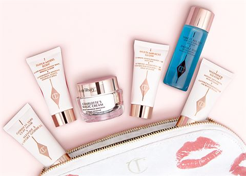 Win Charlotte Tilbury's travel beauty essentials worth £195