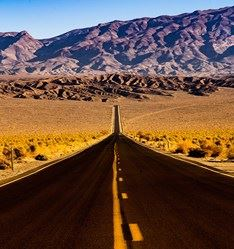 Highway 190, Las Vegas to Death Valley, USA