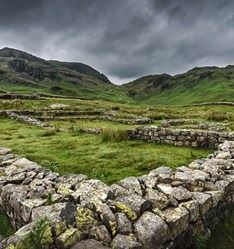 Hardknott Pass, Eskdale to Skelwith Bridge, UK
