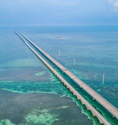 Overseas Highway, Miami to Key Wes