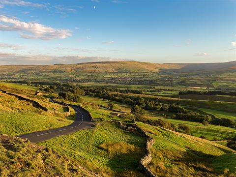 Buttertubs Pass, North Yorkshire, England