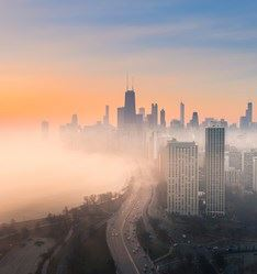 Lake Shore Drive, Chicago, USA